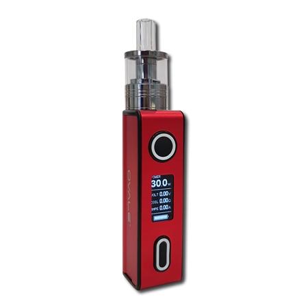 cigarrillo electrónico B2200 rojo cuerpo 2ml