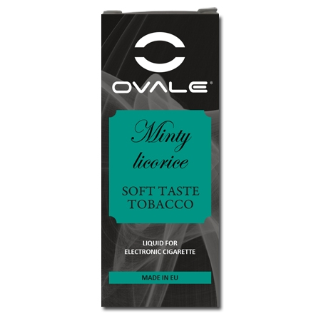 OVALE E-LIQUID MINTY LICORICE Image
